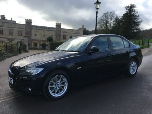 BMW 3 Series 2.0TD 316d ES Saloon 4d 1995cc in Black