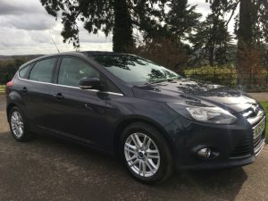 Ford Focus 1.6TDCi (115ps) Titanium Hatchback 5d 1560cc in Grey