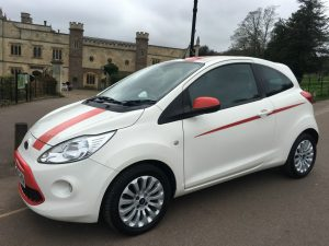 Ford KA 1.2 Zetec Hatchback 3d 1242cc in White